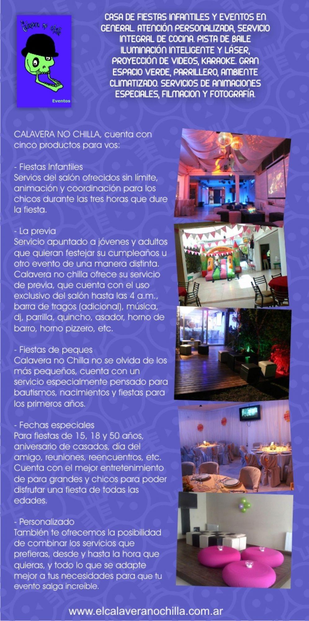 CALAVERA NO CHILLA | Fiestasparachicos.com